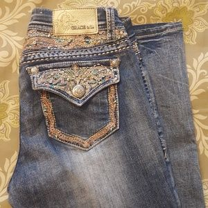 Grace in La Boot cut Jeans 28